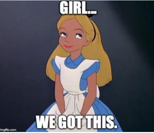 Alice meme